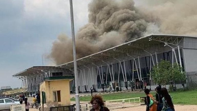 Photo of Read the alarming reason behind the fire incident at Imo Airport