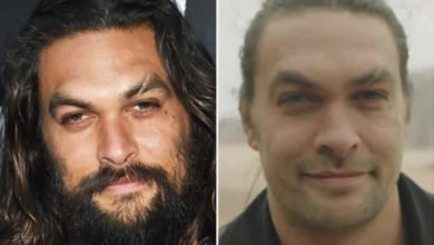 Photo of Game of Thrones star, Jason Momoa shaves off signature beards