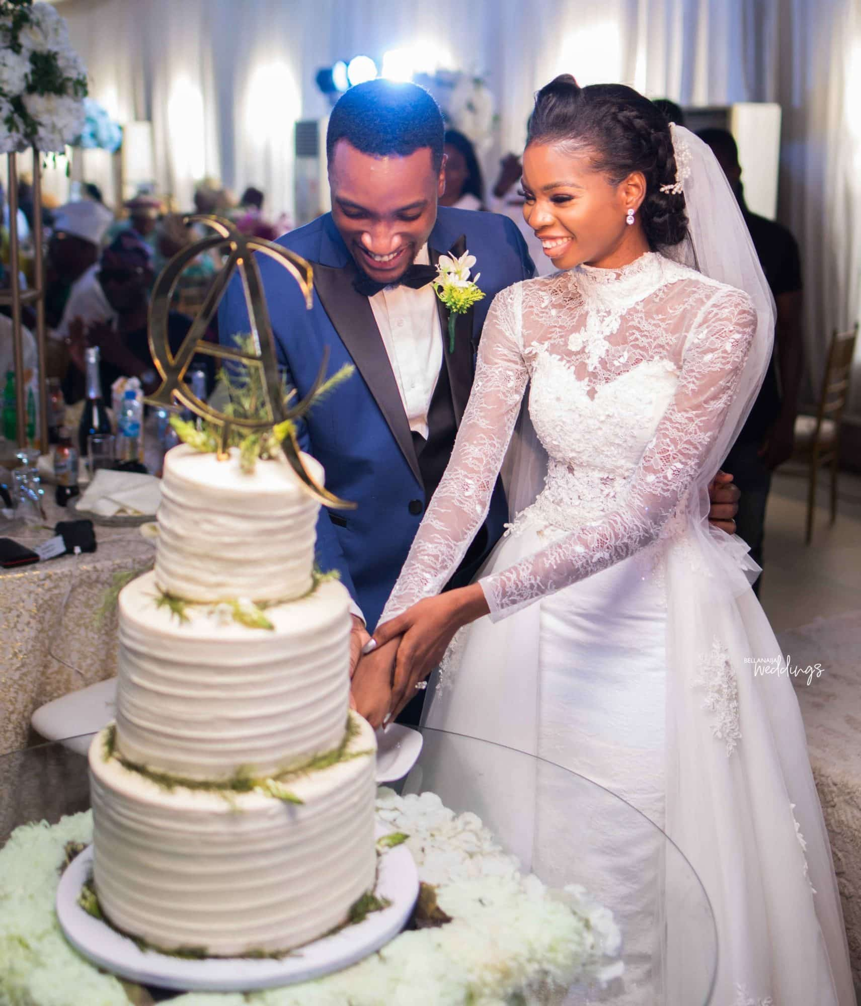 Photo of Actor Akah and Claire's wedding ceremony is a true tale of marring your best friend (photos)