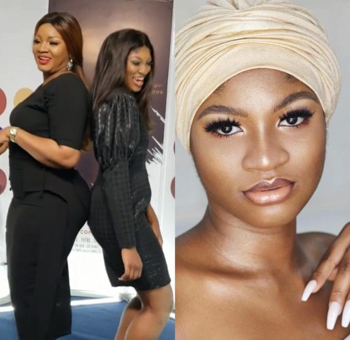 Photo of How Actress, Omotola Ekeinde's first daughter almost died 21 years ago