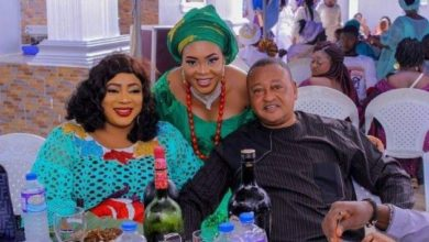 Photo of Nollywood stars storm Sola Kosoko's daughter's christening
