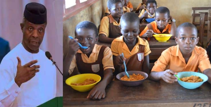 Photo of How FG has been feeding pupils with 594 cows, 138,000 chickens, 6.8m eggs weekly