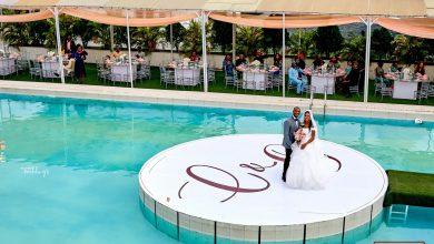 Photo of Official photos from Gideon Okeke's white wedding