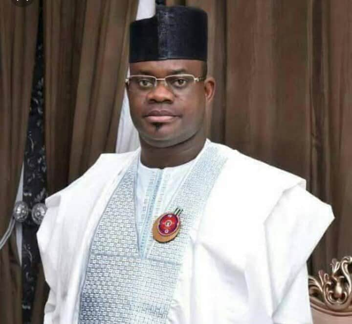 Photo of Kogi governor, Yahaya Bello, declares for second term