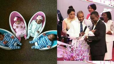 Photo of Woman miraculously gives birth to quadruplets after 12 years of being Barren (photos)