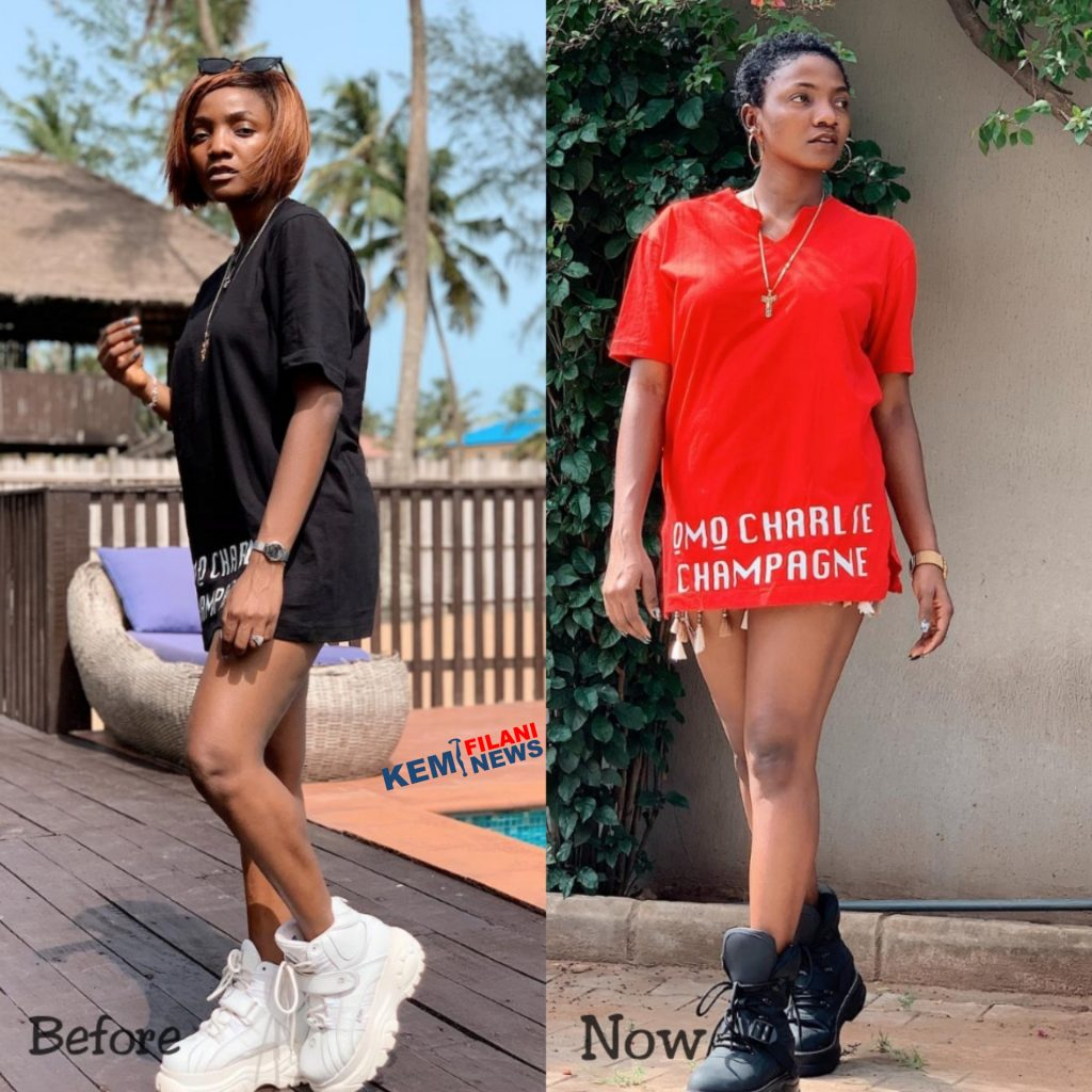 Simi cuts her hair and she's so beautiful (photos)