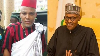 Photo of Nnamdi Kanu releases evidences alleging Buhari is not a Nigerian