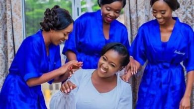 Photo of Nigerian lady who has been bridesmaid for 40 friends, finally finds love (photos)