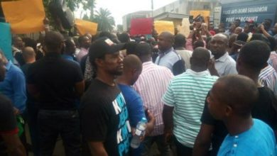 Photo of Chevron staff protest, ask MD to step down over alleged racism
