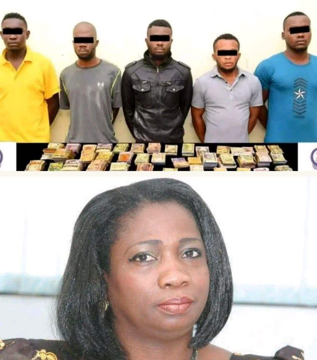 Photo of Names of the five Nigerians arrested for robbery in Dubai