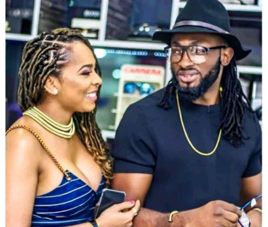 Photo of Uti Nwachukwu in trouble over curse from Tboss' dad