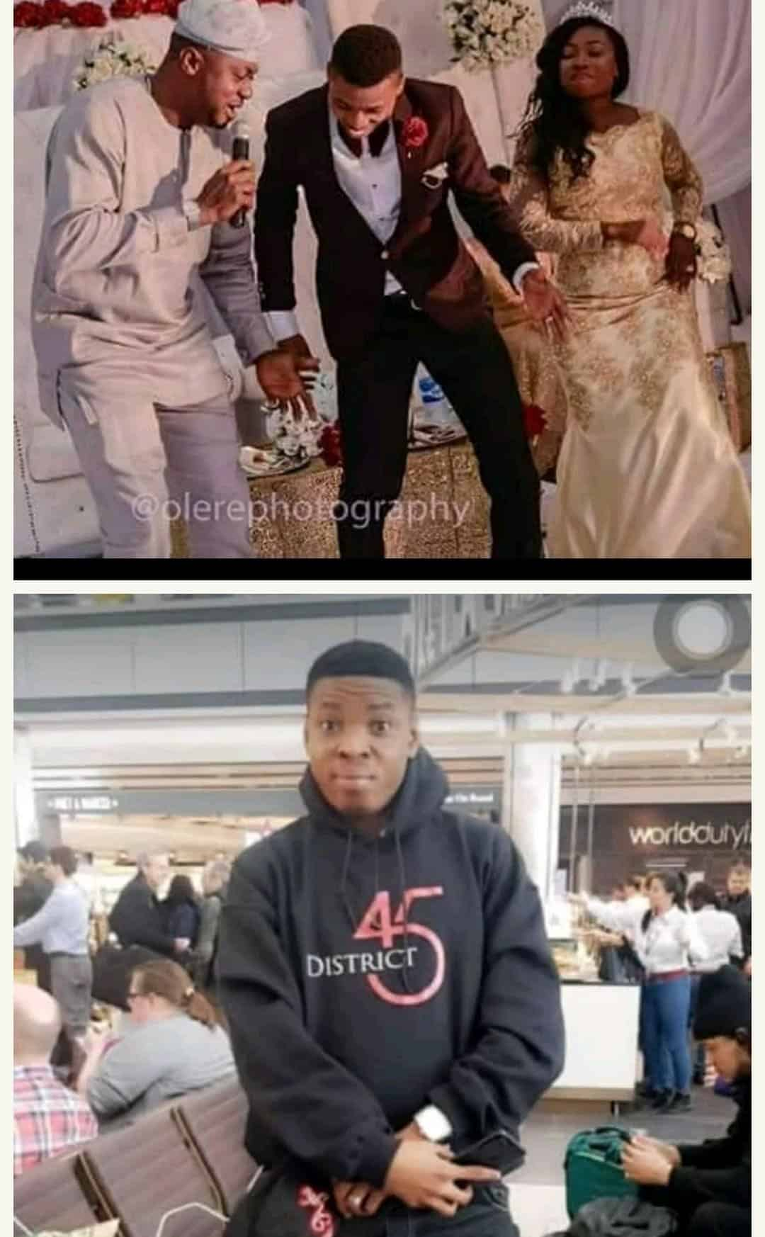 Photo of Comedian Woli Agba celebrates 2nd wedding anniversary with wife (photos)