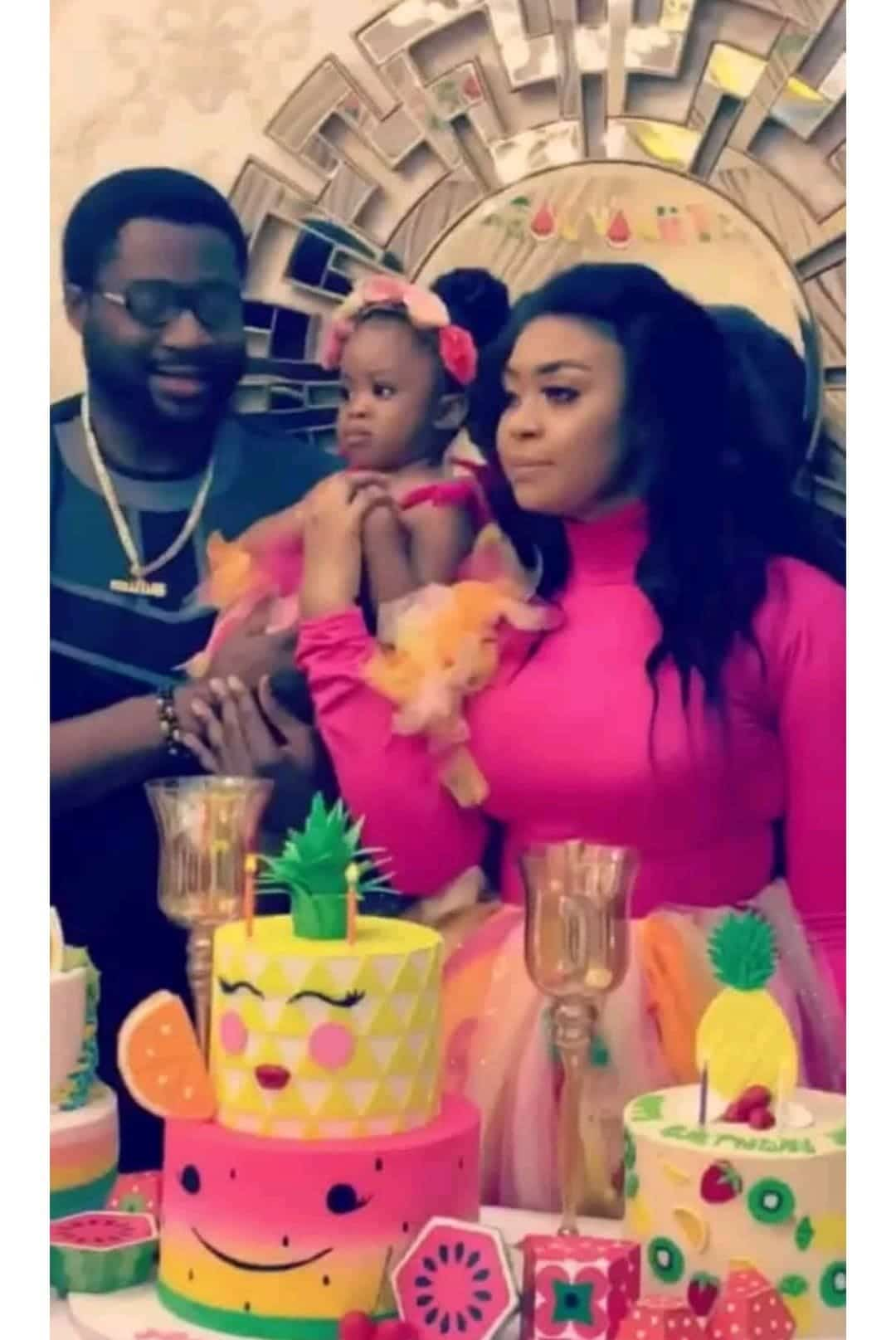 Photo of Actress Mimi Orijekwe and ex-husband turn up for daughter's 2nd birthday (Photos)