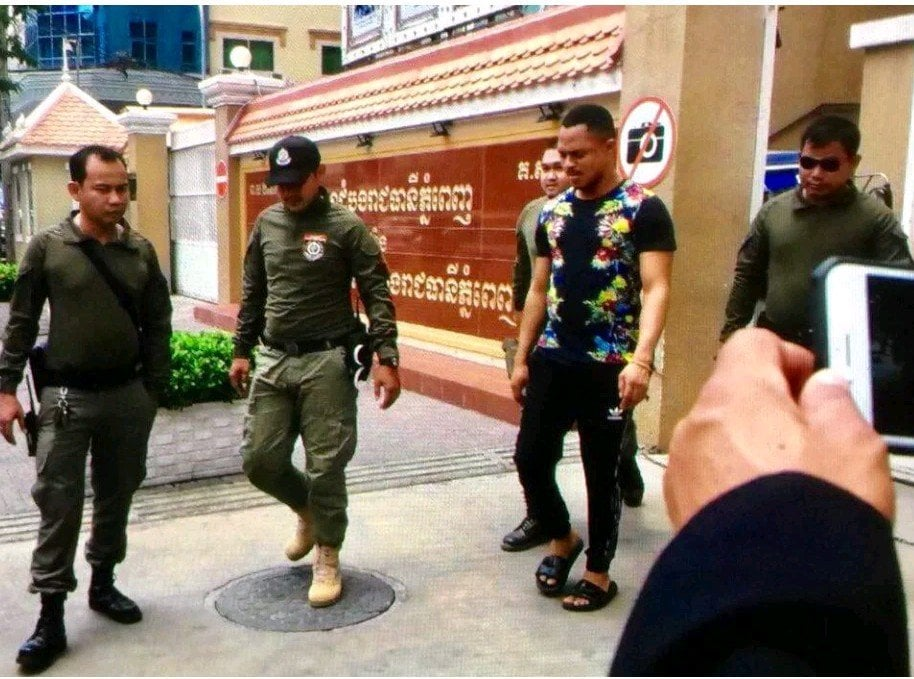 Photo of Nigerian man and his foreign wife arrested in Cambodia for fraud at the request of US Embassy