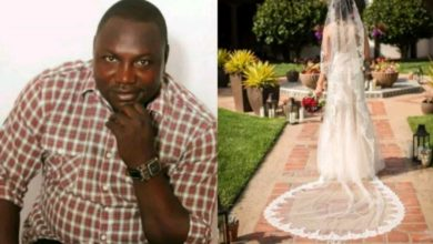Photo of Nigerian man laments as girlfriend calls off their wedding for military man