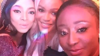 Photo of Toke Makinwa, Mercy Aigbe and others turn up for Ini Edo as she marks 37th birthday (Photos)