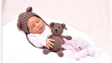 Photo of Tania Omotayo shares first photo of baby girl she welcomed a month ago