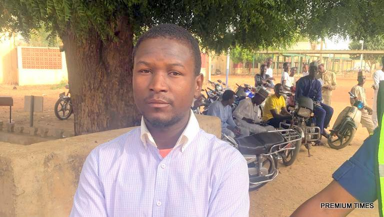 Photo of This 'Mercenary' was caught red-handed writing JAMB for many candidates