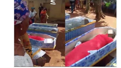 Photo of Tears as man and his two daughters died after taking herbal medicine
