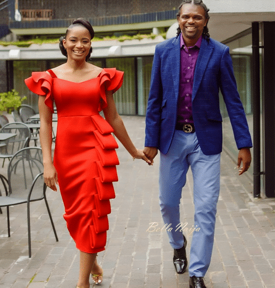 Photo of Kanu Nwankwo surprises his wifey, Amara in adorable way (photos)