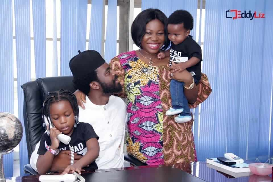 Photo of Goodluck Jonathan's daughter, Faith marks fifth wedding anniversary with gorgeous family photos