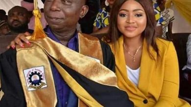 "Photo of ""I encourage pens and not penis for young girls,"" Georgina Onuoha reacts to Regina Daniels marriage"