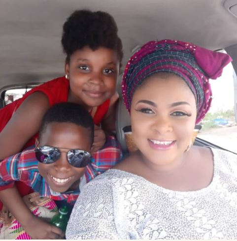 Photo of Nollywood Actress, Ireti Osayemi shows off her beautiful children for the first time (photos)