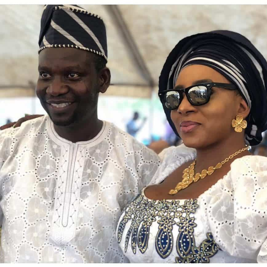 Photo of Mide Martins is the neck that holds my head – Husband reveals