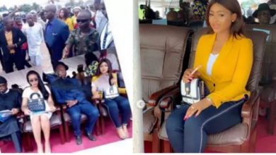 Photo of Regina Daniels and billionaire husband, Ned Nwoko step out in style