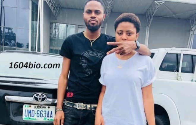 Photo of Regina Daniels' brother reacts to her 'marriage to billionaire Ned Nwoko'
