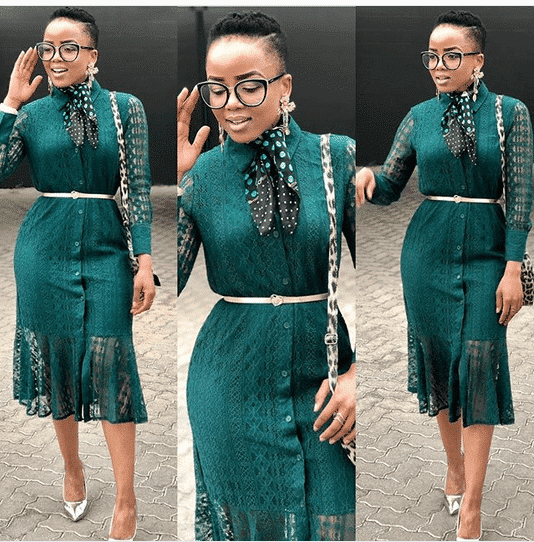 cd588756b6f9b In case you haven't noticed, the use of neck scarfs on outfits is starting  to become a trend again in the Nigerian fashion scene and we have got you  covered ...