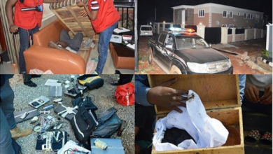 Photo of See the scary charms recovered as EFCC arrests 32 Yahoo-boys in Ogun (Photos)