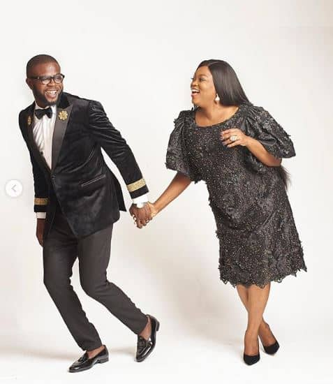 Photo of Funke Akindele celebrates husband's birthday in sweetest way (photos, videos)