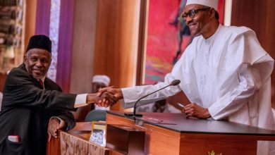 Photo of Buhari extends Tanko Muhammad's tenure as CJN