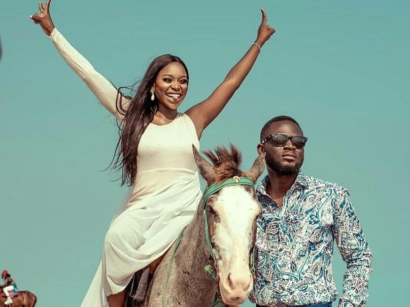 Photo of TV personality Tomike Alayande releases prewedding photos