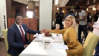 Photo of Tonto Dikeh ready to love again, goes on a date with Daniel Amokachi (photos, video)