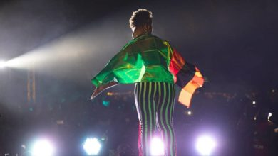 Photo of Yemi Alade given a new name in Zambia as she performs in front of 11,000 people