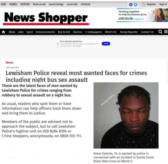 At 19, Naira Marley was wanted for robbery & sexual assault in London