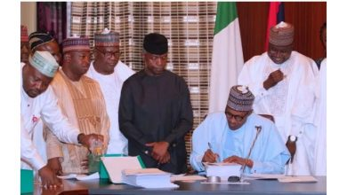President Buhari signs ₦8.91trillion 2019 budget