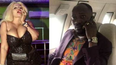 Photo of Cossy Orjiafor reveals size of Apostle Suleman's manhood…warns him to pay her money (photos)