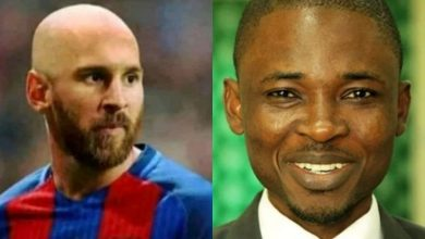 Photo of Blogger Omojuwa to wear blonde hair as punishment for Messi bit winning UCL