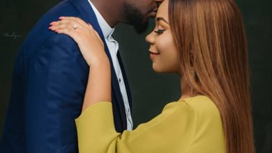 Photo of They met at a friend's wedding and the rest is history, read Data and Mayowa's love story #Themadawedding