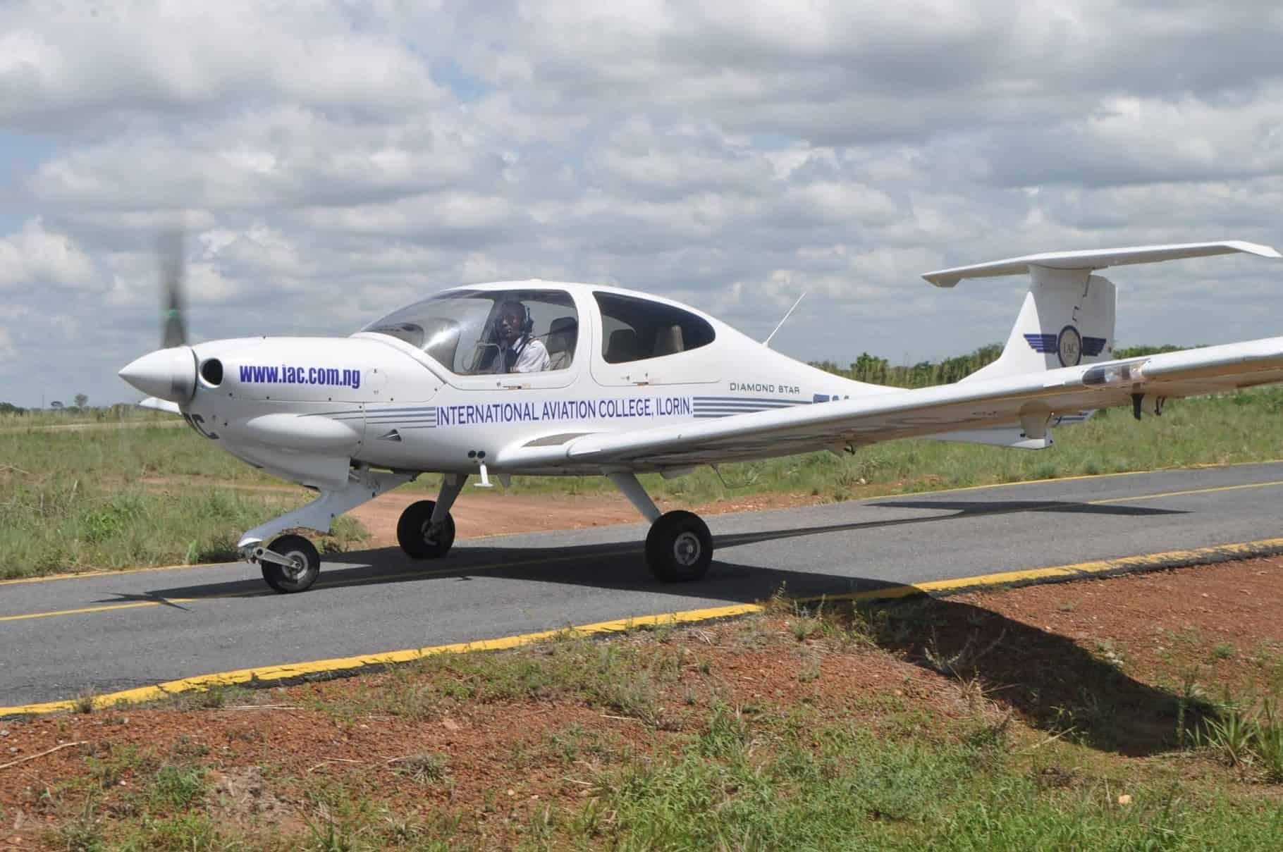 Nigerian plane