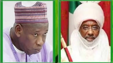 Photo of Court restrains Governor Ganduje from reducing Emir Sanusi's powers