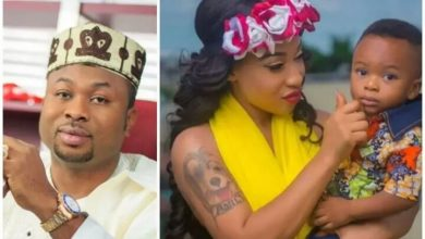 Photo of I caught my son's father in the middle of the night with red candle while doing 'yahoo' – Tonto Dikeh