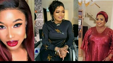 Photo of Bobrisky fights in Tonto Dikeh's defense, body shames Funke Adesiyan