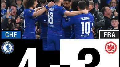 download video highlights Chelsea vs Eintracht Frankfurt 1-1 highlights video download
