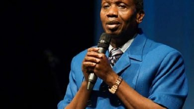 Photo of Pastor Adeboye reacts after RCCG house escapes being burnt in Abule Egba pipeline explosion