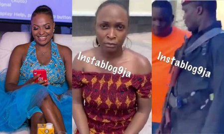 Blogger Blessing Okoro arrested by billionaire who owns the house she flaunted