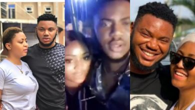 Regina Daniels and her ex-boyfriend, Somadina seen partying on eve of her traditional wedding (Video)